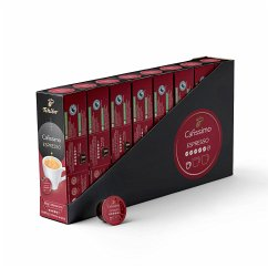 Tchibo Cafissimo Espresso kräftig Kapseln, 80 Stück (8 x 10 Kapseln)
