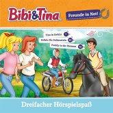 Bibi & Tina - Freunde in Not (Tina in Gefahr / Gefahr für Falkenstein / Freddy in der Klemme) (MP3-Download)