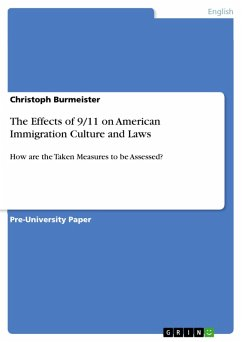 The Effects of 9/11 on American Immigration Culture and Laws (eBook, PDF)