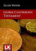 George Canterburys Testament (eBook, ePUB)