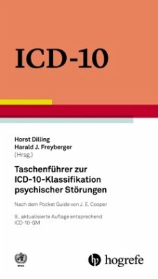 Taschenführer zur ICD-10-Klassifikation psychischer Störungen - WHO - World Health Organization WHO Press Mr Ian Coltart