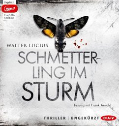 Schmetterling im Sturm / Heartland Trilogie Bd.1 (2 MP3-CDs) (Mängelexemplar) - Lucius, Walter