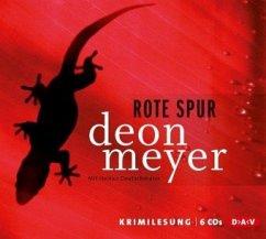 Rote Spur, 5 Audio-CDs (Mängelexemplar) - Meyer, Deon