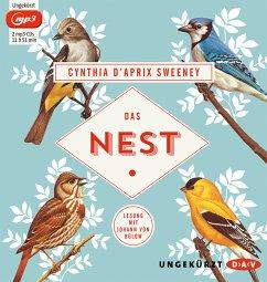 Das Nest, 2 MP3-CD (Mängelexemplar) - Sweeney, Cynthia D'Aprix