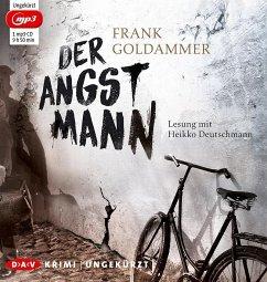 Der Angstmann / Max Heller Bd.1 (1 MP3-CDs) (Mängelexemplar) - Goldammer, Frank