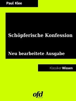 Schöpferische Konfession (eBook, ePUB)