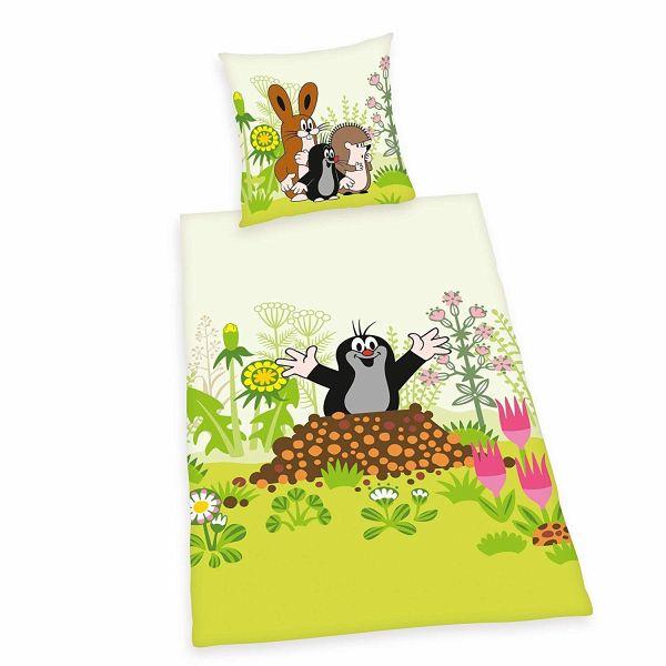 Herding Der Kleine Maulwurf Bettwäsche Set Wendemotiv Bettbezug
