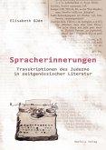 Spracherinnerungen (eBook, PDF)