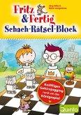 Fritz & Fertig Schach-Rätsel-Block (eBook, ePUB)