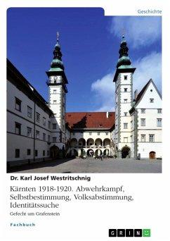 Kärnten 1918-1920. Abwehrkampf, Selbstbestimmung, Volksabstimmung, Identitätssuche (eBook, PDF)