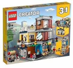 LEGO® Creator 31097 Stadthaus mit Zoohandlung & Cafe