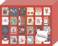 Morgen kommt der Weihnachtsmann! - Ein Adventskalender für Kinder zum Selbstbefüllen