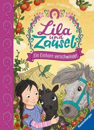 Buch-Reihe Lila und Zausel