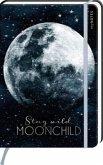 myNOTES Notizbuch A5: Stay wild, moonchild - notebook medium, dotted - für Träume, Pläne und Ideen / ideal als Bullet Journal oder Tagebuch