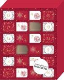 Merry Christmas - Ein Adventskalender deluxe zum Selbstbefüllen