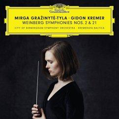 Weinberg Sinfonien 2+21 - Grazinyte-Tyla/Kremer/Cbso/Kremerata Baltica