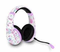 Multiformat Pink Camo Stereo Gaming Headset-Raider
