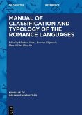 Manual of Classification and Typology of the Romance Languages