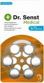 10x6 Dr. Senst Medical Hörgeräte Batterien Typ 675 70513