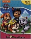Paw Patrol, Spielbuch + 8-10 Spielfiguren + Spielmatte