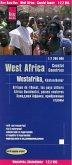 Reise Know-How Landkarte Westafrika, Küstenländer (1:2.200.000) : Senegal bis Nigeria