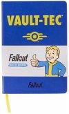 Fallout Vault-Tec Notebook, Notizbuch A5-Format, 100 Seiten