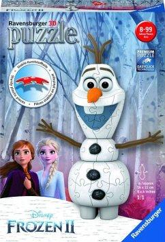 Ravensburger 11157 - Disney Frozen II, Olaf als Schneemann, 3D-Puzzle, 54 Teile
