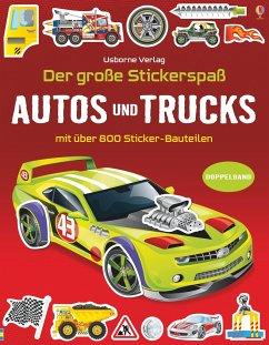 Der große Stickerspaß: Autos und Trucks - Tudhope, Simon