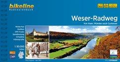Weser-Radweg 1:50.000