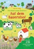 Mein Immer-wieder-Stickerbuch: Auf dem Bauernhof
