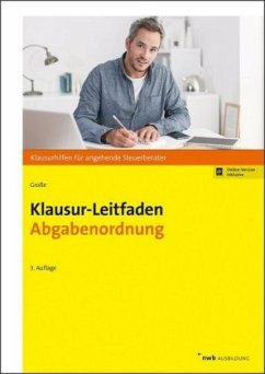 Klausur-Leitfaden Abgabenordnung - Große, Thomas