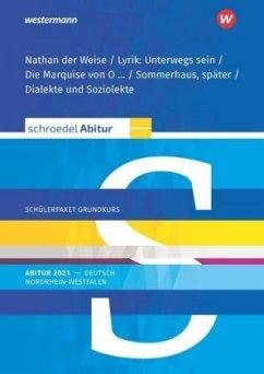 Schroedel Abitur - Ausgabe für Nordrhein-Westfalen 2021. Deutsch. Schülerpaket Grundkurs