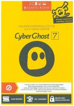 CyberGhost 7 - (5 Geräte/1 Jahr)