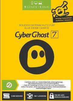 CyberGhost 7 - (3 Gerät/1 Jahr)
