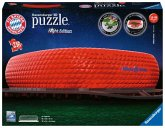 Ravensburger 12530 - Allianz Arena bei Nacht, Night Edition, 3D-Puzzle, 216 Teile