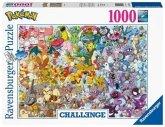 Ravensburger 15166 - Challwenge, Pokémon, Puzzle, 1000 Teile