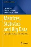 Matrices, Statistics and Big Data