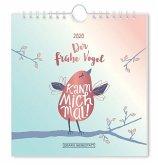 Der frühe Vogel 2020 Postkartenkalender