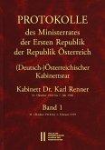 Protokolle des Ministerrates der Ersten Republik Österreich, Abteilung I (Deutsch-)Österreichischer Kabinettsrat 31. Oktober 1918 bis 7. Juli 1920 (eBook, PDF)
