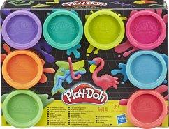 Hasbro E5063ES1 Play-Doh 8 PACK NEON