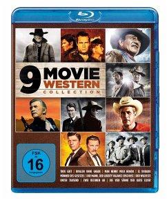9 Movie Western Collection - Vol. 1 BLU-RAY Box - Kirk Douglas,John Wayne,James Stewart