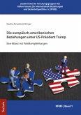 Die europäisch-amerikanischen Beziehungen unter US-Präsident Trump