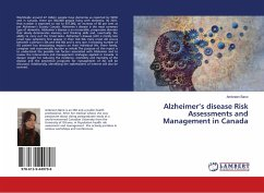 Alzheimer's disease Risk Assessments and Management in Canada