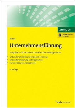 Unternehmensführung - Meier, Harald