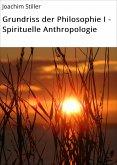 Grundriss der Philosophie I - Spirituelle Anthropologie (eBook, ePUB)