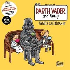Darth Vader and Family 2020 Family Wall Calendar - Brown, Jeffrey