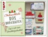 Weihnachtliche Boxbotschaften. Sag's mit einer Streichholzschachtel (Mängelexemplar)