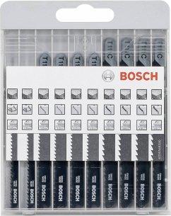 Bosch 10tlg. Stichsägeblatt-Set Basic für Holz