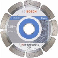 Bosch Diamanttrennscheibe Standard für Stein 125mm 22,23mm