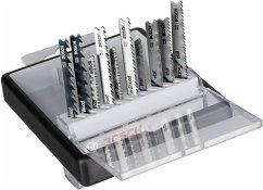 Bosch 10tlg. Robust Line Stichsägeblatt-Set Holz und Meta